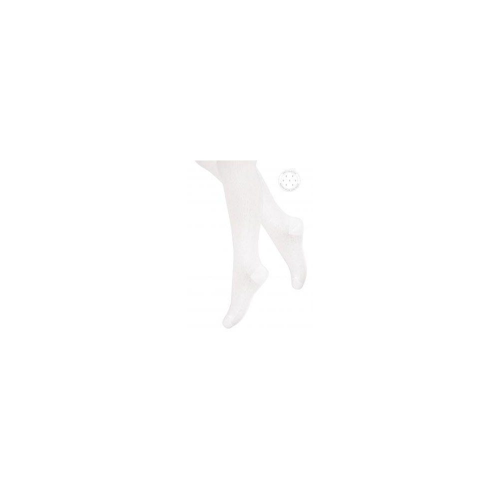 Art.102 PL012 80-86 ECRU/MAŁE ROMBY ct-02 12x1tex LYCRA22
