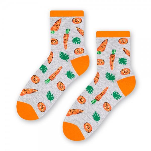 skarpetki w marchewki